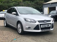 USED 2012 12 FORD FOCUS 1.6 ZETEC TDCI 5d 113 BHP NAVIGATION SYSTEM +   BLUETOOTH +   PRIVACY GLASS +   17 INCH ALLOYS +
