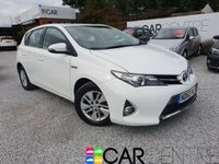USED 2013 62 TOYOTA AURIS 1.8 ICON VVT-I 5d AUTO 99 BHP 1 PRV OWNER + FULL SERV HIST