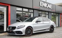 """USED 2017 17 MERCEDES-BENZ C 63 AMG 4.0 AMG C 63 PREMIUM 4d AUTO 469 BHP *BURMESTER SOUND SYSTEM*PAN ROOF*WIDE NAVIGATION*PANORAMIC ROOF*C63s LOOK*PREMIUM*REVERSE CAMERA*SOFT-CLOSE BOOT*19""""ALLOYS*MERCEDES FULL SERVICE HISTORY*BLACK PACK*DE-CHROMED*PRIVACY GLASS*ADJUSTABLE SUSPENSION*LEATHER MEMORY SEATS*CARBON INTERIOR*EXTENDED LEATHERS*HEATED SEATS*ELECTRIC SEATS*ELECTRIC MIRRORS*FOLDING MIRRORS*KEY LESS ENTRY*1 OWNER FROM NEW*DAB RADIO*PHONE PREP"""