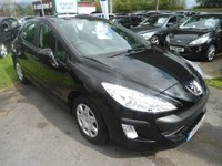 USED 2011 11 PEUGEOT 308 1.4 S 5d 98 BHP 5 SERVICE STAMPS