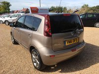 USED 2011 NISSAN NOTE 1.4 N-TEC 5d 87 BHP FULLY AA INSPECTED - FINANCE AVAILABLE