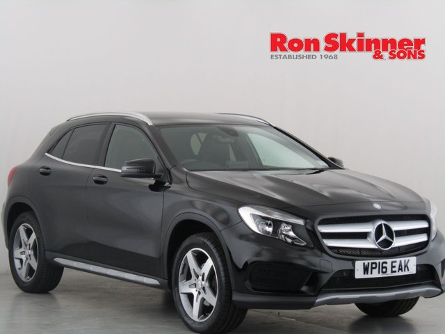 View our 2016 16 MERCEDES-BENZ GLA-CLASS 2.1 GLA 200 D AMG LINE 5d AUTO 134 BHP