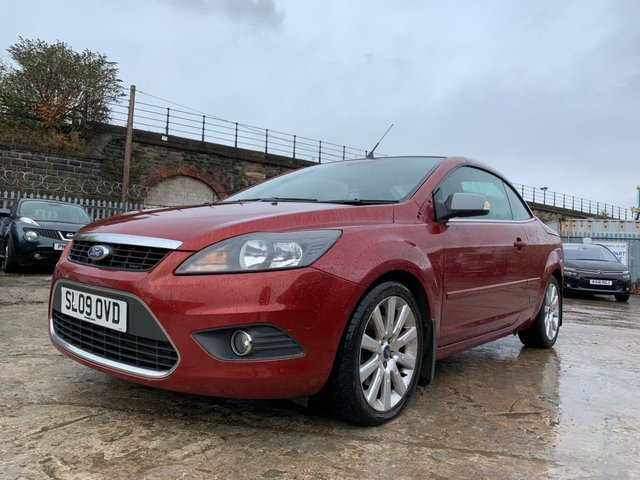 USED 2009 09 FORD FOCUS CC 2.0 CC2 2d 135 BHP MEDIA+CD+LOWMILE+GOODMPG+CLEANCAR+3PREVKEEP+HPICLEAR+AUX+
