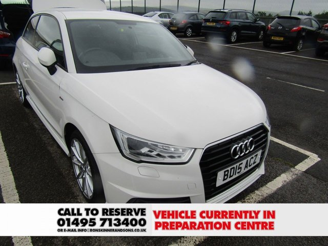 View our 2015 15 AUDI A1 1.6 TDI S LINE 3d 114 BHP