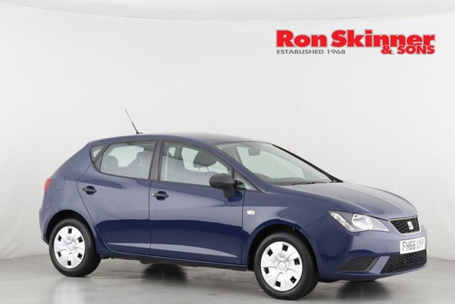 View our 2016 66 SEAT IBIZA 1.0 S 5d 74 BHP