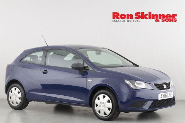 View our 2016 16 SEAT IBIZA 1.0 S 3d 74 BHP