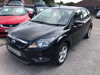 USED 2011 60 FORD FOCUS 1.6 ZETEC 5d 100 BHP GREAT SPEC + MPG DRIVES WELL, SUPPLIED WITH A NEW MOT