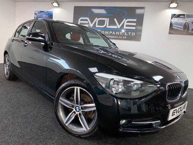 2014 63 BMW 1 SERIES 1.6 114D SPORT 5d 94 BHP