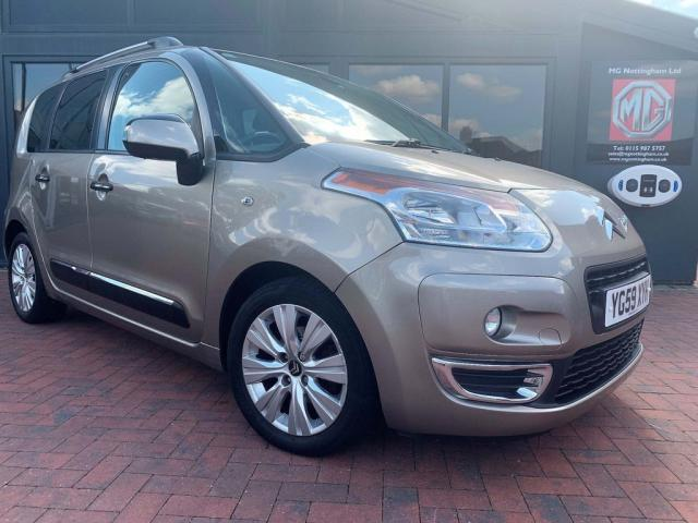 USED 2009 59 CITROEN C3 PICASSO 1.6 HDi 8v Exclusive 5dr