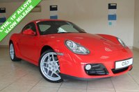 USED 2010 10 PORSCHE CAYMAN Cayman RED, BLACK LEATHER, 19 INCH ALLOY WHEEL, AIR CONDITIONING, FULL PORSCHE SERVICE HISTORY,