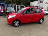 USED 2012 12 HYUNDAI I10 1.2 CLASSIC 5d 85 BHP (1 OWNER FROM NEW) NEW MOT, SERVICE & WARRANTY