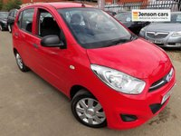 2012 HYUNDAI I10 1.2 CLASSIC 5d 85 BHP (1 OWNER FROM NEW) £2990.00