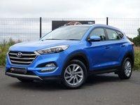 2017 HYUNDAI TUCSON SE NAV 1.7 CRDI BLUE DRIVE 5d AUTO 139 BHP £15295.00