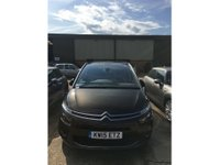 2015 CITROEN C4 GRAND PICASSO 2.0 BLUEHDI EXCLUSIVE PLUS 5 DOOR AUTO 148 BHP (ULEZ COMPLIANT)IN BRONZE PANORAMIC ROOF,SERVICE HISTORY GREAT CONDITION. £12999.00