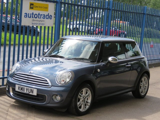 USED 2011 11 MINI HATCH ONE 1.6 ONE 3dr Air con Alloys Finance arranged Part exchange available Open 7 days