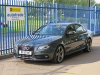 USED 2011 11 AUDI A4 2.0 TFSI BLACK EDITION 4d 208 BHP Part Leather,Low Miles,Service History