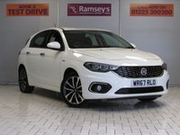 USED 2017 67 FIAT TIPO 1.4 LOUNGE 5d 94 BHP