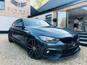 2017 BMW 4 SERIES 2.0 420D M SPORT GRAN COUPE 4d AUTO 188 BHP £19990.00