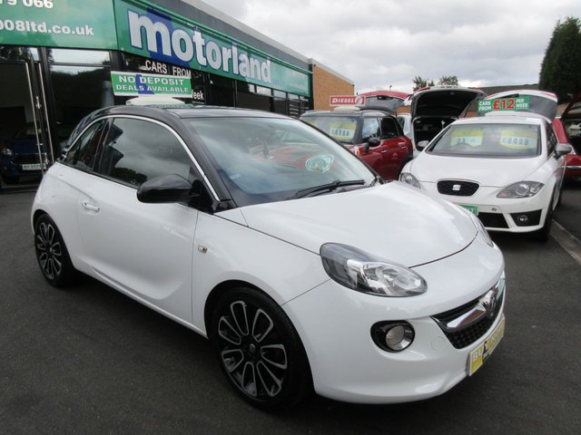 USED 2013 13 VAUXHALL ADAM 1.4 GLAM 3d 98 BHP **BUY NOW PAY NEXT YEAR**