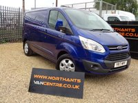 USED 2017 17 FORD TRANSIT CUSTOM 2.0 270 LIMITED SWB 5d 130 BHP