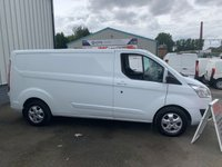 USED 2016 66 FORD TRANSIT CUSTOM 2.0 290 LIMITED 130BHP EURO 6 AIR CON SAT NAV CRUISE CONTROL 1 OWNER 40 + VANS IN STOCK SAME DAY LOW RATE FINANCE AVAILABLE