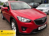 USED 2014 14 MAZDA CX-5 2.2 D SPORT NAV 5d 148 BHP 1 PREVIOUS OWNER, SATELLITE NAVIGATION, 2 KEYS , SERVICE HISTORY JUST HAD PDI SERVICE BY OURSELVES