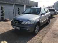 2003 KIA SORENTO 2.5 XE CRDI 5d 138 BHP £2299.00