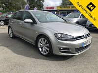 USED 2013 13 VOLKSWAGEN GOLF 2.0 GT TDI BLUEMOTION TECHNOLOGY 5 DOOR 148 BHP IN GREY SAT NAV BLUETOOTH FULL SERVICE HISTORY  IMMACULATE CONDITION APPROVED CARS AND FINANCE ARE PLEASED TO OFFER THIS VOLKSWAGEN GOLF 2.0 GT TDI BLUEMOTION TECHNOLOGY 5 DOOR 148 BHP IN GREY. GREAT CAR WITH A GREAT SPEC INCLUDING ABS,ALLOY WHEELS,ELECTRIC WINDOWS,ELECTRIC MIRRORS,HEATED SEATS,BLUETOOTH,SAT NAV,CRUISE CONTROL,PARKING SENSORS,CLIMATE CONTROL,FULL SERVICE HISTORY WITH 9 STAMPS AND MUCH,MUCH MORE. THIS CAR IS PRICED TO BE SOLD QUICK SO PLEASE CALL 01622-871-555 TODAY AND BOOK YOUR TEST DRIVE.