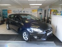 2011 FORD FOCUS 1.6 ZETEC 5d 104 BHP SOLD