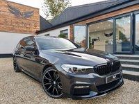 USED 2017 67 BMW 5 SERIES 2.0 520D M SPORT TOURING 5d AUTO 188 BHP