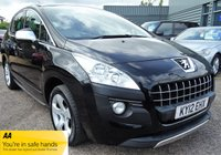 2012 PEUGEOT 3008 1.6 EXCLUSIVE HDI 5d 112 BHP £4990.00