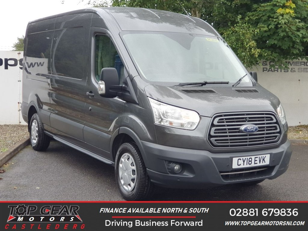 USED 2018 18 FORD TRANSIT 350 FWD 2.0 130 BHP TREND  L3 H2**OVER 85 VANS IN STOCK**