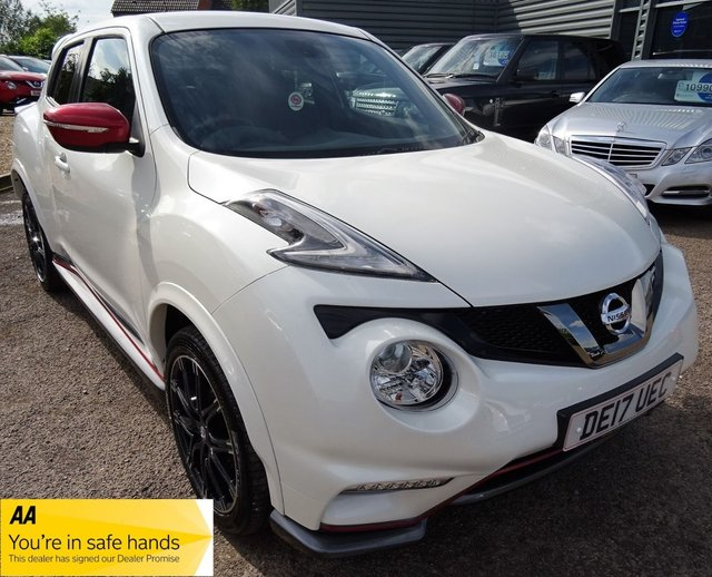 USED 2017 17 NISSAN JUKE Juke Nismo Rs Dig-T Hatchback 1.6 Manual Petrol LOW LOW MILES ONLY 6728 MILES, 2 KEYS,SERVICE HISTORY JUST BEEN SERVICED BY OURSELVES SD CARD FOR SAT NAV GREAT VALUE FOR MONEY AND LOOKS STUNNING