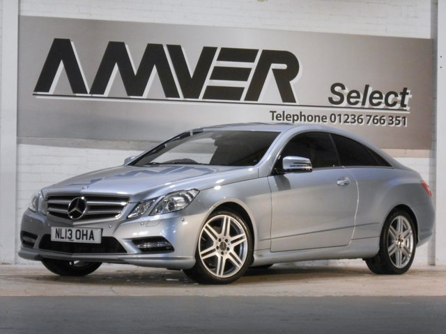 2013 13 MERCEDES-BENZ E CLASS 2.1 E220 CDI BLUEEFFICIENCY SPORT 2d AUTO 170 BHP