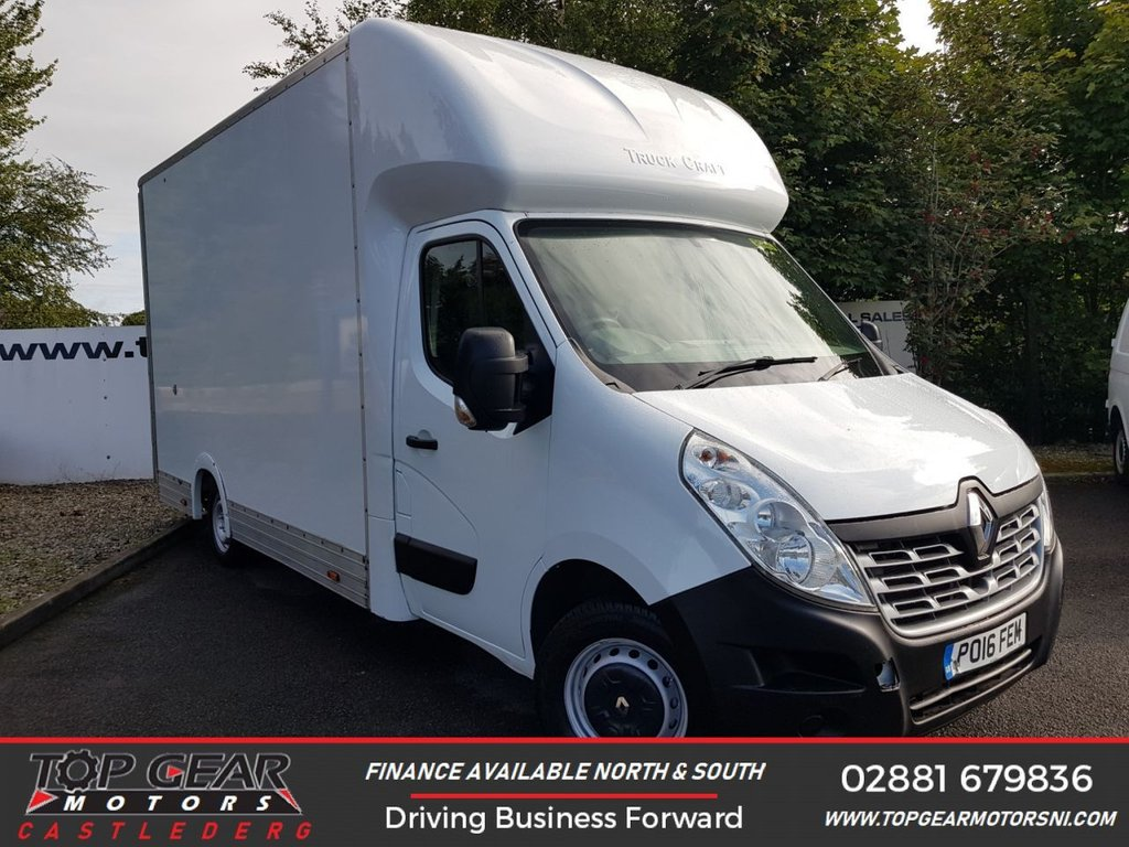 USED 2016 16 RENAULT TRUCKS MASTER 35 2.3 125 BHP LONG EXTRA HIGH **CHOOSE FROM 85 VANS**