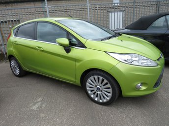 2010 FORD FIESTA 1.6 TITANIUM TDCI 5d 94 BHP ++ LEATHER ++ HEAT SEATS