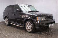 USED 2010 60 LAND ROVER RANGE ROVER SPORT 3.0 TDV6 HSE 5DR SAT NAV HEATED LEATHER SEATS 245 BHP FULL SERVICE HISTORY + HEATED LEATHER SEATS + SATELLITE NAVIGATION + REVERSE CAMERA + BLUETOOTH + PARKING SENSOR + CRUISE CONTROL + CLIMATE CONTROL + MULTI FUNCTION WHEEL + DAB RADIO + ELECTRIC/MEMORY DRIVER SEAT + XENON HEADLIGHTS + SIDE STEPS + PRIVACY GLASS + ELECTRIC WINDOWS + ELECTRIC MIRRORS + 20 INCH ALLOY WHEELS