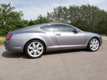 2006 BENTLEY CONTINENTAL 6.0 GT 2d AUTO 550 BHP £20995.00