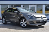 USED 2016 66 VOLKSWAGEN GOLF 1.6 MATCH EDITION TDI BMT 5d 109 BHP NO DEPOSIT FINANCE AVAILABLE