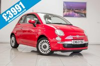 USED 2013 13 FIAT 500 1.2 LOUNGE 3d 70 BHP September 2020 MOT & Just Been Serviced