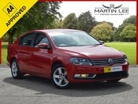 USED 2014 14 VOLKSWAGEN PASSAT 2.0 S TDI BLUEMOTION TECHNOLOGY 4d 139 BHP ONLY £20 TAX FANTASTIC FAMILY SALOON