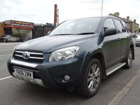2006 TOYOTA RAV4 2.2 XT4 D-4D (175 bhp) T180 4WD 5dr..NAV..LEATHER..SUNROOF £1750.00