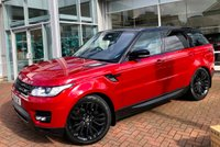 USED 2015 15 LAND ROVER RANGE ROVER SPORT 3.0 SDV6 HSE DYNAMIC 7 SEAT AUTO 288 BHP Incredibly Rare 7 Seat Model with Over £10000.00 of Options Including Deployable Side Steps, Rear Seat Entertainment, Dual View TV and Loads More!