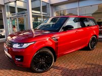 USED 2014 14 LAND ROVER RANGE ROVER SPORT 3.0 SDV6 HSE 5d AUTO 288 BHP One owner from new - Navigation - Climate - Cruise - Bluetooth Audio Streaming - Factory Privacy - 21 Inch Dynamic Wheels and Fully Colour Coded Exterior!