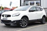 USED 2013 13 NISSAN QASHQAI+2 1.6 DCI 360 IS PLUS 2 5d 130 BHP STUNNING QUASHQAI+2 IN A STUNING WHITE, MUST BE SEEN!