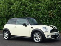 2013 MINI HATCH COOPER 1.6 COOPER 3d 122 BHP £6250.00