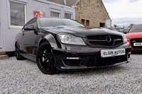USED 2012 62 MERCEDES-BENZ C 63 AMG 6.3 Auto 2dr ( 457 bhp ) Low Owners Full Service History Stunning Example with Stealth Black Pack Top Spec