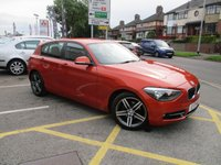 USED 2013 13 BMW 1 SERIES 1.6 116I SPORT 5d 135 BHP Lovely Colour & Full Service History