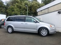USED 2008 58 CHRYSLER GRAND VOYAGER 2.8 CRD LIMITED 5d AUTO 161 BHP