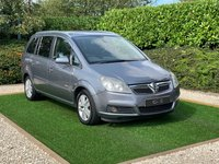 USED 2007 07 VAUXHALL ZAFIRA 1.8 DESIGN 16V 5d 140 BHP A Well Cared for 7 Seat Multi Purpose Vehicle with a Full Documented Service History, Half Black Leather Interior 16 Inch Alloy Wheels, Leather Multi Function Steering WHeel, Automatic Headlights, On-board Computer, Air Conditioning, Privacy Glass